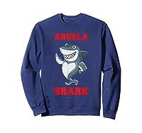 Abuela Shark Tshirts: Funny Spanish Gift T-shirt Sweatshirt Navy