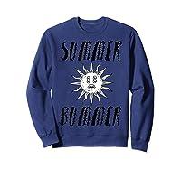 Summer Bummer Seapunk Shirts Sweatshirt Navy