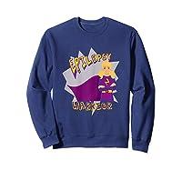 Epilepsy Warrior Shirt Blonde Girl Hero Tee Sweatshirt Navy
