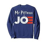 My Patronus Is Joe Biden Harris 2020 Voter Harry Fan Gift Shirts Sweatshirt Navy