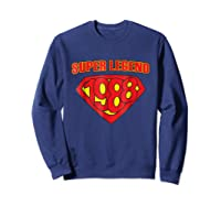 Super Legend 1988 Comic Hero - T-shirt Sweatshirt Navy