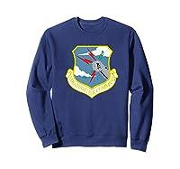 Strategic Air Command Sac Cold War Grunge T-shirt Sweatshirt Navy