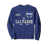 El Salvador Football 2019 Salvadorean Soccer T-shirt Sweatshirt Navy