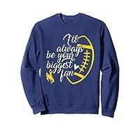 Wing Cow Biggest Fan T-shirt - Apparel Sweatshirt Navy
