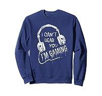 Funny Computer Gaming Gamer Video Game Gift For Shirts Sweatshirt Navy