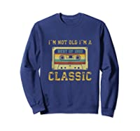 Vintage Cassette I\\\'m Not Old I\\\'m A Classic 1992 27th Tank Top Shirts Sweatshirt Navy