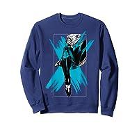 Marvel X- Storm Color Pop Box Graphic T-shirt Sweatshirt Navy