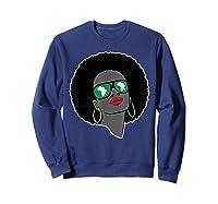 Black History Tshirts For | Pan African Shirt | 1619 T-shirt Sweatshirt Navy