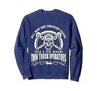 Tow Truck Operator Shirts Sweatshirt Navy
