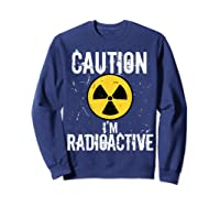 Radiation Therapy Funny Cancer Get Well Soon Gift Survivor T-shirt Sweatshirt Navy
