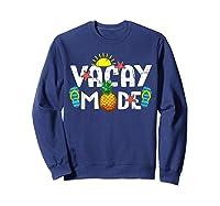 Family Vacation Holidays Vacay Mode Summer Travel Gift T-shirt Sweatshirt Navy