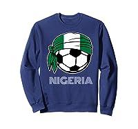 Nigeria Soccer 2019 Super Eagles Fans Kit Football Shirts Sweatshirt Navy