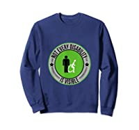 Not Every Disability Is Visible Awareness Illness Shirts Sweatshirt Navy