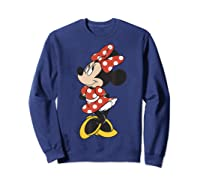 Mickey And Friends Minnie Mouse Traditional Portrait Shirts Sweatshirt Navy