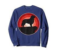 Bernese Mountain Dog Gifts Shirt For & T-shirt Sweatshirt Navy