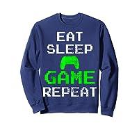 Gaming Console Vintage Shirts Sweatshirt Navy