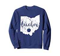 Red For Ed T-shirt Ohio Tea Public Education Sweatshirt Navy