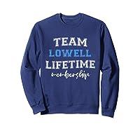 S Team Lowell Groom Squad Custom Bachelor Party Wedding T-shirt Sweatshirt Navy