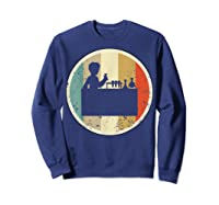 Laboratory Chemist Technician Science Scientist Research Job T-shirt Sweatshirt Navy