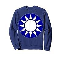 Taiwan Flag Kuomintang Symbol Shirts Sweatshirt Navy