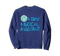 Medical Assistant Job Occupation Gift Shirts Sweatshirt Navy