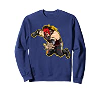 Kane Clothesline Graphic Shirts Sweatshirt Navy