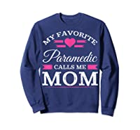 Paramedic Mom Mothers Day Gift For Shirts Sweatshirt Navy