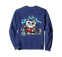 The Big Bang Theory Purr Purr Purr Shirts Sweatshirt Navy