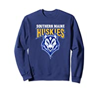 University Of Southern Maine Huskies Ppusmn02 Shirts Sweatshirt Navy
