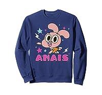 The Amazing World Of Gumball Anais Portrait Shirts Sweatshirt Navy