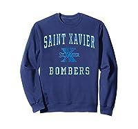 St Xavier High School Bombers C1 Shirts Sweatshirt Navy