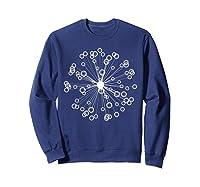 Mod Art Bursting Balls T-shirt Sweatshirt Navy