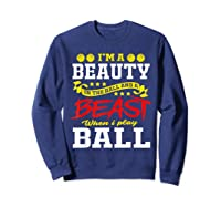 A Beauty In The Hall Funny T Shirt For Basketball Players Sweatshirt Navy