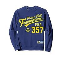 Masonic Prince Hall Pha 357 Sports Style Shirts Sweatshirt Navy