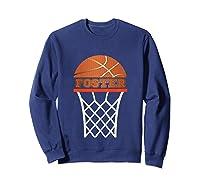 Basketball Foster Custom Name Gift, Shirts Sweatshirt Navy