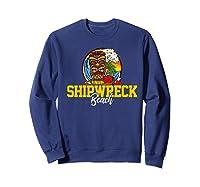 Shipwreck Beach Shirts Sweatshirt Navy