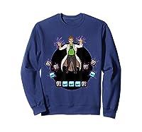 Mario Lab Twitch T Shirts Sweatshirt Navy