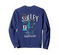 Disney Pixar Monsters University Sulley Basketball Premium T-shirt Sweatshirt Navy