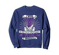 Cleft & Craniofacial Awareness Purple For Granddaughter Ts Shirts Sweatshirt Navy