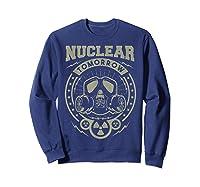 Nuclear Fallout - T-shirt Sweatshirt Navy
