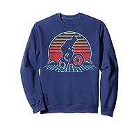 Bmx Retro Vintage 80s Style Mountain Bike Rider Gift T-shirt Sweatshirt Navy