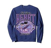 Aladdin Jasmine Let Your Heart Decide Ride Shirts Sweatshirt Navy