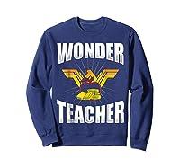 Wonder Tea Funny Tea Life Shirts Sweatshirt Navy