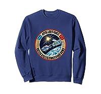 Apollo-soyuz Rendezvous Patch T-shirt Nasa History Sweatshirt Navy