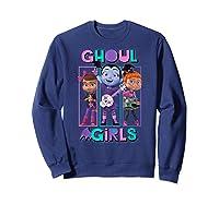 Vampirina Ghoul Girls Trio Shirts Sweatshirt Navy