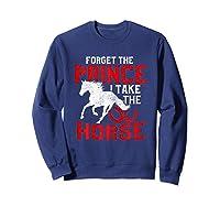 Rider Prefers Horses Shirts Sweatshirt Navy