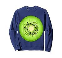 Kiwi Costume Fruit Halloween Costume Shirts Sweatshirt Navy