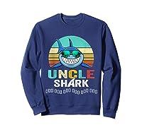 Uncle Shark Doo Doo T-shirt Sweatshirt Navy