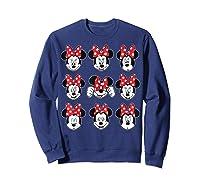 Disney Minnie Rock The Dots Oh My Minnie T-shirt Sweatshirt Navy