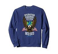 Operation Enduring Freedom Veteran Gift Shirts Sweatshirt Navy